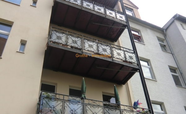 Wohnen im DG mit XL Balkon